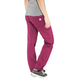 E9 Onda Story Classic Pants Women red